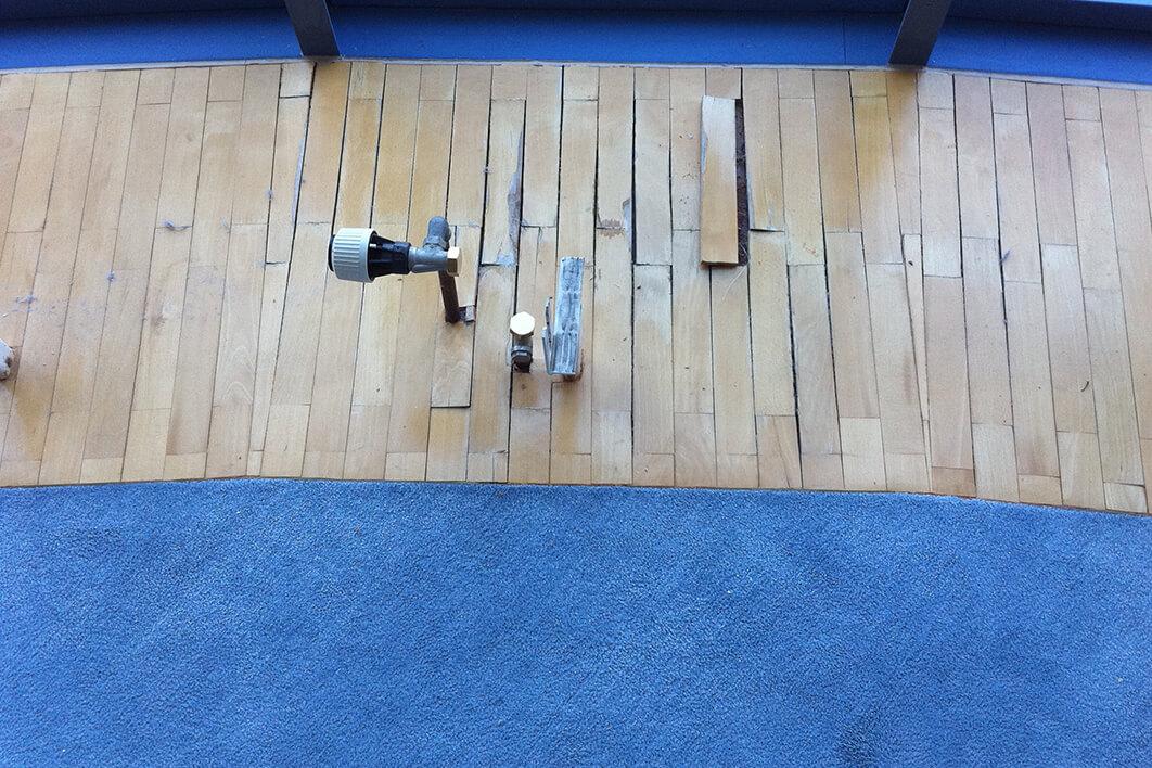 Droessler Parkett - Sanierung Zweischicht Parkett (Phase 1)