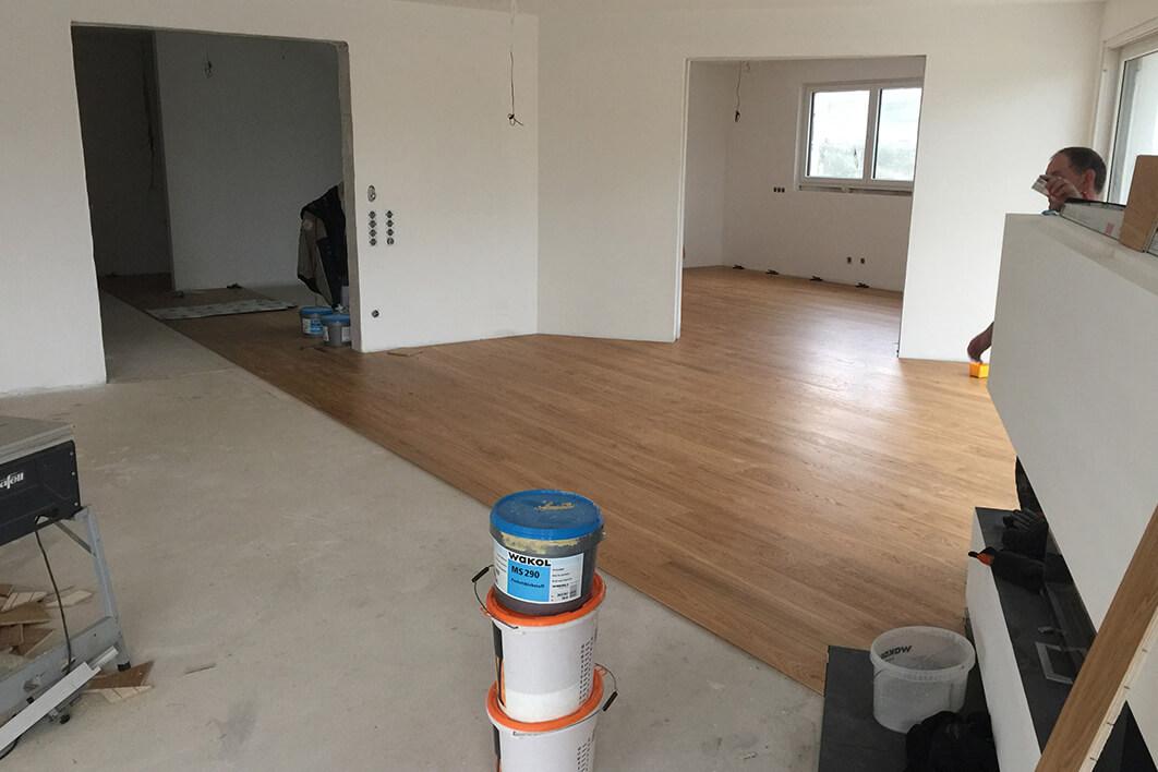 Droessler Parkett - Zweischicht Landhausdiele in Abwicklung (Phase 2)